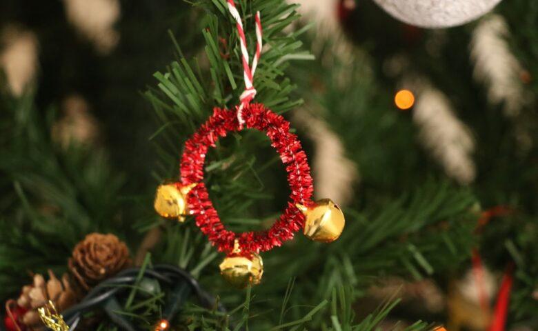 DIY: Χριστουγεννιάτικο μουσικό στολίδι