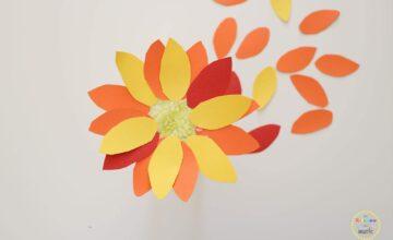 DIY: Μαράκες λουλούδι