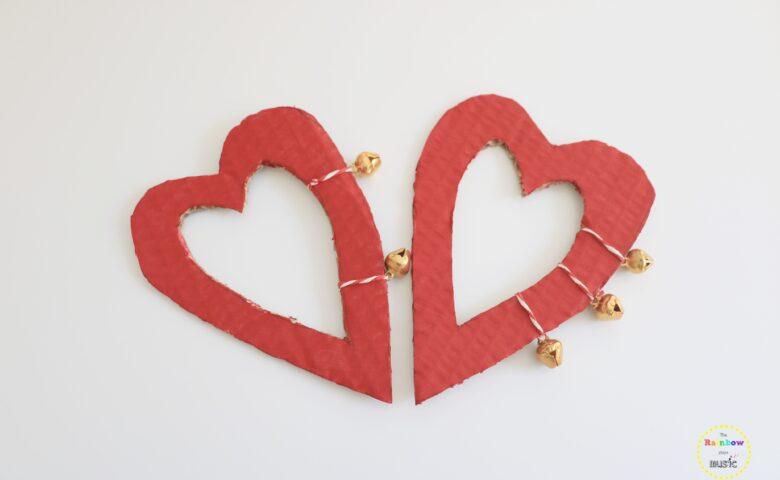 Κουδουνάκια Καρδιές