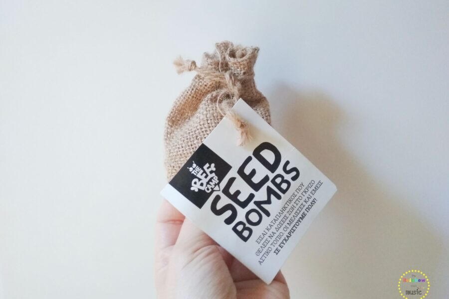 Seed bombs: Τι είναι και πώς βοηθάμε τις μέλισσες;